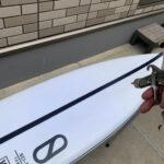 サーフボード黄ばみ予防